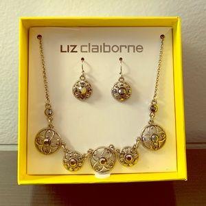 Liz Claiborne jewelry set